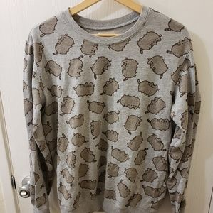 Pusheen pullover sweater sweatshirt size medium